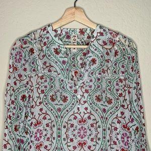 Anthropologie Tops - Anthropologie Dolan floral shirt | size large